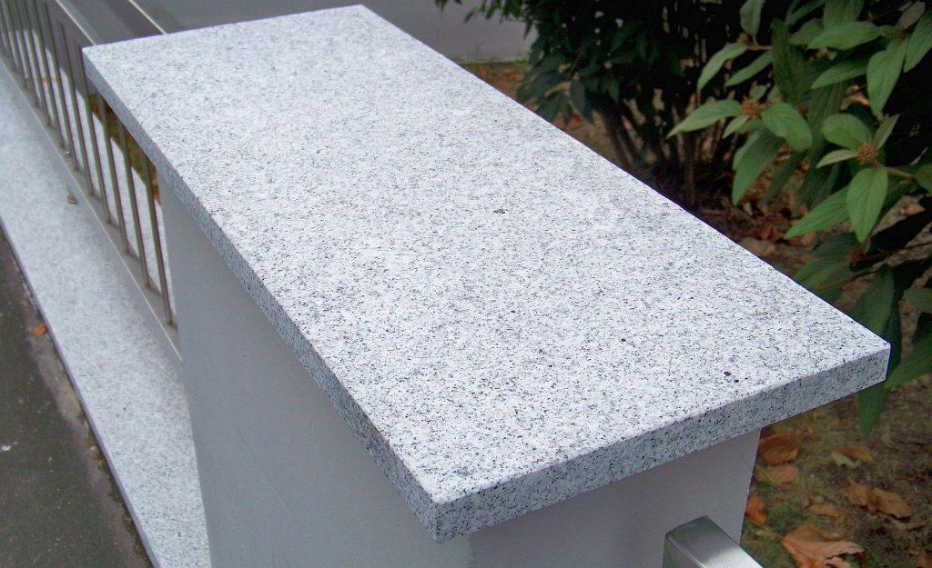 Mauerabdeckung - Diamond-Grey Geflammt